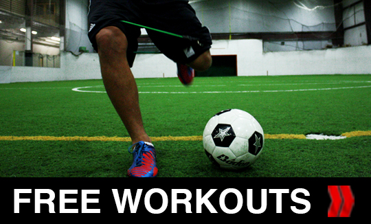 Click For FREE Soccer Workouts