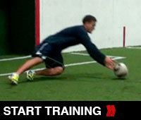 Soccer Goalkeeper Drill