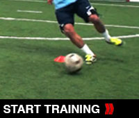 Soccer Lateral Shuffle
