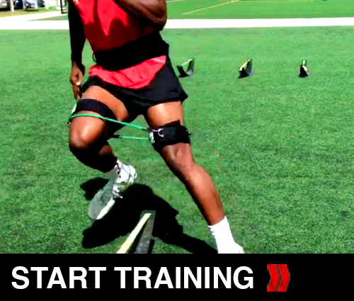 Soccer step Over drill