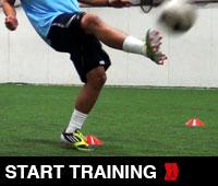 The 4 Cone Soccer Juggling Drill