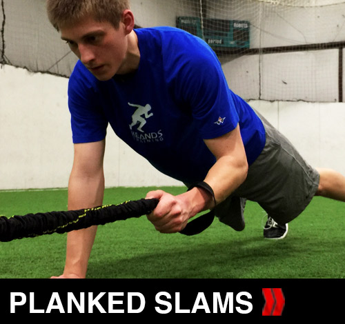 Warrior Planked Slams