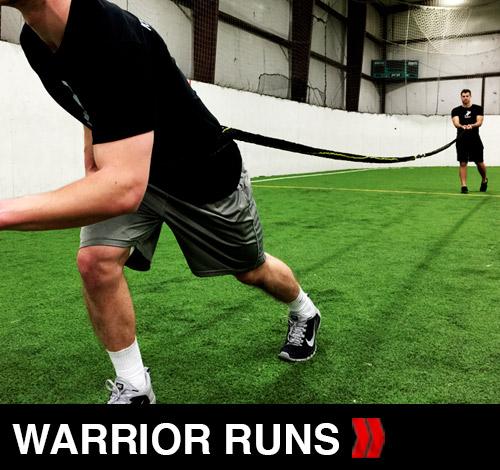 Warrior runs