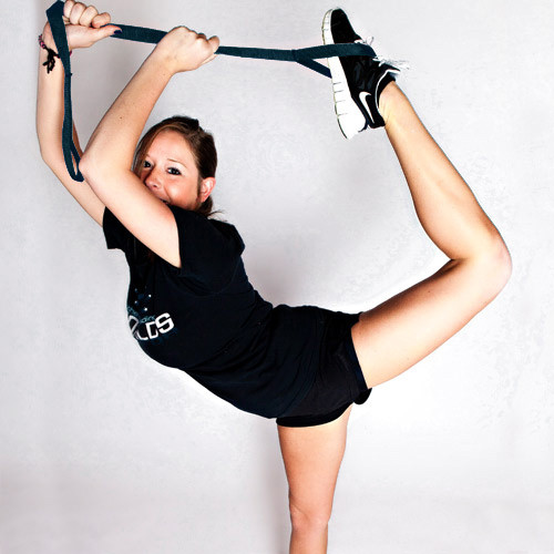 Improve your flexibility with the Kbands Stunt Strap. The Stunt Strap will improve flexibility with every stretch. The Stunt Strap allows you to stretch your muscles in the exact same angles as your stunts require.