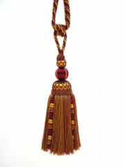Marakesh Large Tieback Tassel, Colour 1 Burgundy/ Gold [ONLY 4 LEFT]