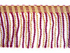 Calgary 70mm Bullion Fringe, Colour 3 Red/ Gold ONLY 9 METRES LEFT]