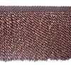 Kingsford 150mm Tassel Fringe, Colour Black/ Red
