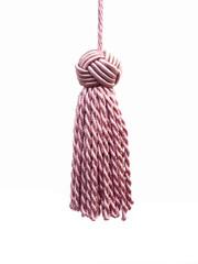 Turks Head 100mm Key Tassel, Colour 1 Pink