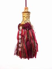 Mini Angkor 190mm Key Tassel, Colour 1 Red [ONLY 1 LEFT]