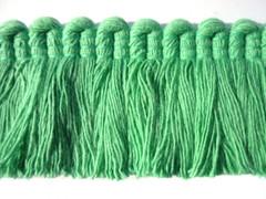 Noosa Cotton 40mm Cut Ruche, Colour 1 Aqua [SOLD OUT]