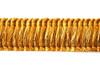 Mosman 27mm Cut Ruche, Colour 7 Goldfields [ONLY 5 METRES LEFT]