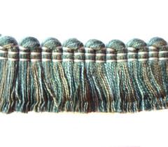 Mosman Cotton 27mm Cut Ruche, Colour 1 Marble [SOLD OUT]