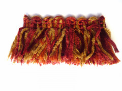 Dakar 50mm Chenille Cut Ruche, Colour 1 Garnet [ONLY 5 METRES LEFT]