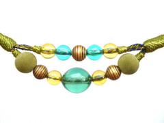 Jewel Rope Tieback, Colour Lime Twist