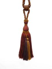 Davina Designer Tieback Tassel, Colour Heather/ Russet