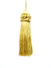 Sylivia 165mm Key Tassel, Colour Gold