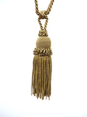 Zora Tieback Tassel, Colour Aztec Gold [ONLY 2 LEFT]