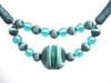 Madeline Jewell Rope Tieback, Colour 2 Azure