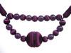 Madeline Jewell Rope Tieback, Colour 3 Aubergine