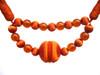 Madeline Jewell Rope Tieback, Colour 4 Burnt Orange