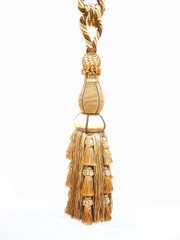 Alexander Tieback Tassel, Colour 1 Gold/ Coffee [ONLY 1 LEFT]