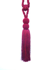 Bombay Small Tieback Tassel, Colour Claret [ONLY 1 LEFT]