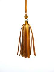 Beaded Dancer 210mm Key Tassel, Colour Nutmeg [ONLY 3 LEFT]