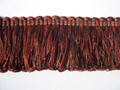 Loop Fringe Uncut Ruche, Colour Fireglow [ONLY 3 METRES LEFT]