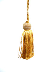 Bombay 175mm Key Tassel, Colour 1 Straw [SOLD OUT]
