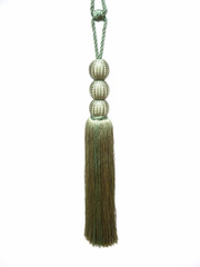 Sophia Tieback Tassel, Colour Lawn [ONLY 1 LEFT]