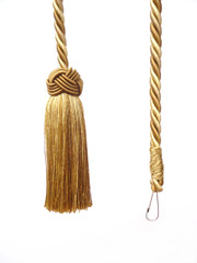 Olivia Flick Cord/ Light Pull Colour 1 Mixed Golds