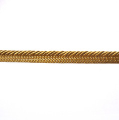 Madagascar 3mm Flange Cord Colour Old Gold 11 METRE LOT BUY