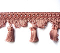 Flamenco 70mm Tassel Fringe Colour Dusky Pink 8 METRE LOT BUY