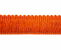 Madeline 32mm Cut Ruche Colour Burnt Orange [10 METRE LOT BUY]