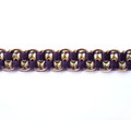 Lourdes Spanish 12mm Gimp Braid Colour Aubergine [12 METRE LOT BUY]