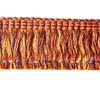 Aria 40mm Cur Ruche Colour Fire [10 METRE LOT BUY]