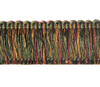 Aria 40mm Cut Ruche Colour Cranberry [10 METRE LOT BUY]