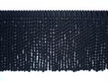 Burma 150mm Cotton Bullion Fringe Colour Black [5METRE LOT BUY]