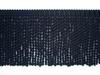 Burma 150mm Cotton Bullion Fringe Colour Black [3 METRE LOT BUY]