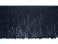 Burma 150mm Cotton Bullion Fringe Colour Black [3 METRE LOT BUY]