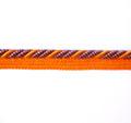 Bagdad 8mm Flange Cord, Colour 7 Orange/ Purple [ONLY 10 METRES LEFT]