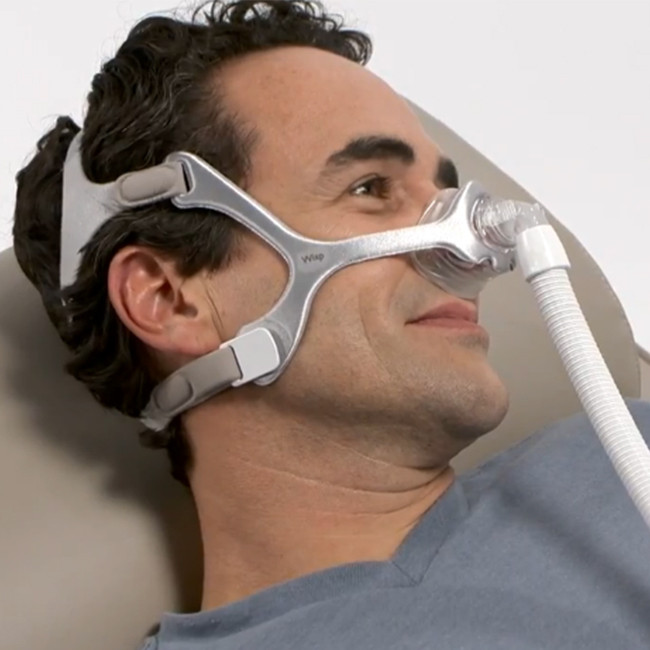 Philips Respironics Wisp CPAP Mask with Silicone Frame and Headgear