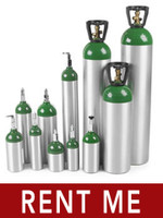 RENT Oxygen Cylinder Tanks