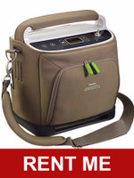 RENT SimplyGo Portable oxygen concentrator