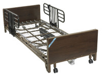 Delta Ultra Light Full Electric Low Hospital Bed with Half Rails