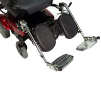 Power Wheelchair Elevating Legrest Bracket with Hemi Spacing
