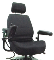 Power Chair or Scooter Captain Seat Cover, 22""