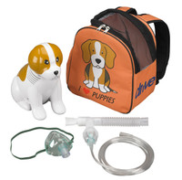 Pediatric Beagle Compressor Nebulizer with Carry Bag, and Disposable and Reusable Neb Kits