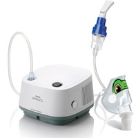 InnoSpire Essence Compressor nebulizer system with Tucker the Turtle pediatric mask