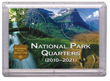 "Frosted 2"" x 3"" Case for National Park Quarters Deer and Meadow (2 Holes)"